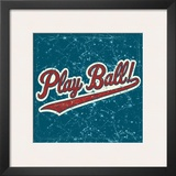 Play Ball Poster by Peter Horjus