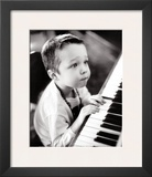 Child Sitting at the Piano Art by Armour Veer Tony