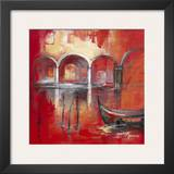 Venise Mysterieuse II Print by Annie Manero