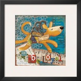 Just Be Loyal Print by Victoria Hutto