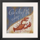 Catch Of The Day Posters by Kim Lewis