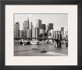 Brooklyn Bridge and Manhattan Skyline Prints by Alan Schein
