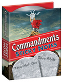 Commandments Sticky Note Booklet Stationary