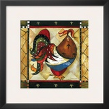 Tuscan Rooster I Posters by Jennifer Garant