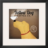 Yellow Dog Coffee Co. Posters by Ryan Fowler
