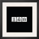 Zen Squares I Prints by Lily Alexander