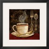Café Rouge Print by Conrad Knutsen