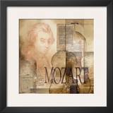 Tribute to Mozart Prints by Marie Louise Oudkerk