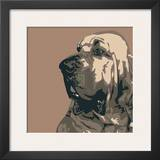 Bloodhound Prints by Emily Burrowes