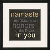 Namaste Prints by Linda Woods