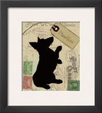 Corgi Silhouette Prints by Nancy Shumaker Pallan