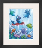 The Rainbow Fish V Print by Marcus Pfister