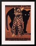 Zoologischer Garten, 1912 Poster