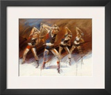 Dance up Prints by Kitty Meijering