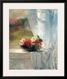 Flowers on a Window Ledge Art by John Lafarge