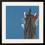 Empire State Building Framed Giclee Print by Brian Nash
