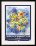 Université Européenne D'Été Print by Roberto Matta