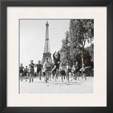 Champs de Mars Gardens Prints by Robert Doisneau