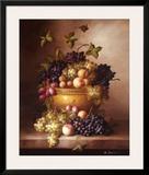 Bordeaux Fruit Prints by M. Francie