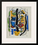 Still Life with Fruits Art by Fernand Leger