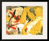 In the Sky Poster by Willem de Kooning
