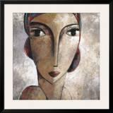 Rostro De Mujer Prints by Didier Lourenco