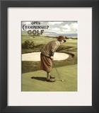 Open Championship Golf I Print by Kevin Walsh