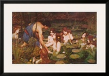Hylas and the Nymphs Poster by John William Waterhouse