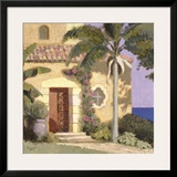 Calle Ensenada Framed Giclee Print by William Buffett