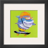 Shark Attack Print by Anthony Morrow
