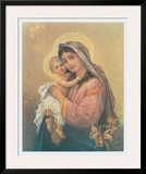 Virgin and Child Prints by  Zatzka