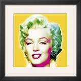 Marilyn in Yellow Posters by Wyndham Boulter