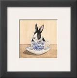 Teacup Bunny III Prints by Kari Phillips