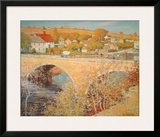 Bridge At Ipswich Prints by Theodore M. Wendel