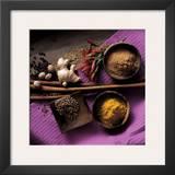 Cinnamon, Coriander, Ginger Poster by Michael Boyny