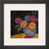 Pink Shadow Prints by Carolyn Holman