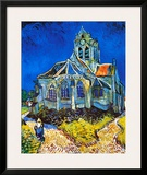 Church at Auvers, c.1896 Prints by Vincent van Gogh