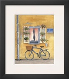 French Bicycle I Poster by Katharine Gracey