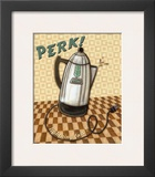 Nifty Fifties, Perk Poster by Charlene Audrey