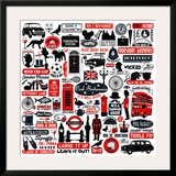 Cool Britania Prints by Janie Secker