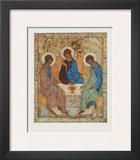 The Holy Trinity Prints by Andrei Rubljew