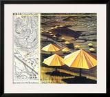 The Yellow Umbrellas II Poster by  Christo