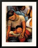 La Noche de Los Pobres Poster by Diego Rivera