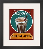 Milkshakes Poster by Catherine Jones