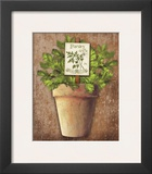 Potted Herbs III Prints by Kate Ward Thacker