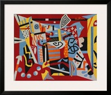 Hot Still-Scape for Six Colors, 7th Avenue Style, 1940 Prints by Stuart Davis
