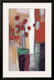 Flowers at Home Framed Giclee Print by Nancy Ortenstone