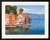 Portofino, Italian Riviera Posters by Adriano Galasso