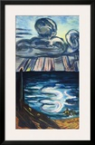 Sea and Clouds Posters by Max Beckmann