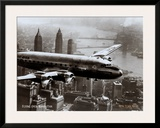 New York, New York, Flying Over Manhattan, 1946 Prints